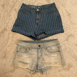 Jean Shorts - AE and So brand